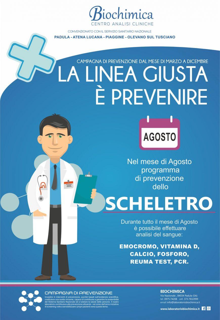 biochimica prevenzione malattie osee