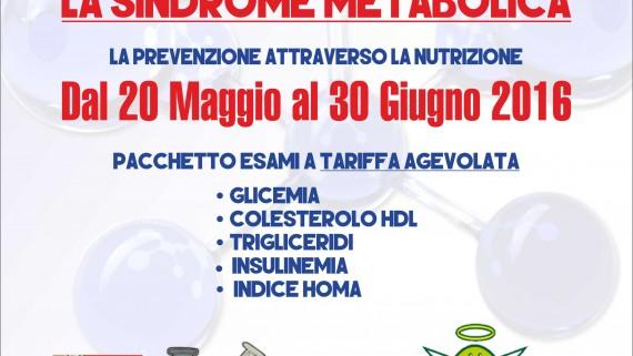 sindrome metabolica e prevenzione attraverso nutrizione